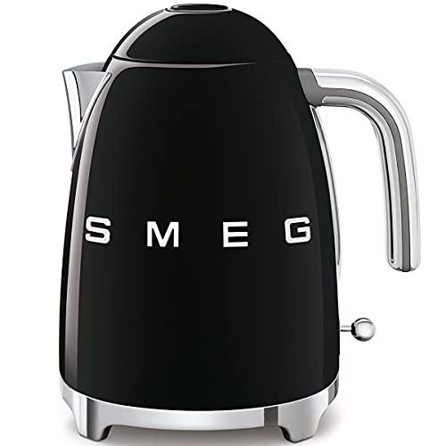 SMEG Calentador de Agua electrico, hervidor KLF03BLEU, 2400 W, 1.7 litros, Acero...