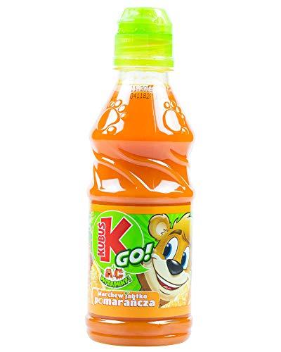 Kubus Go mit Karotte- Apfel- Orange 300ml I Polnische Getränke & Fruchtsäfte