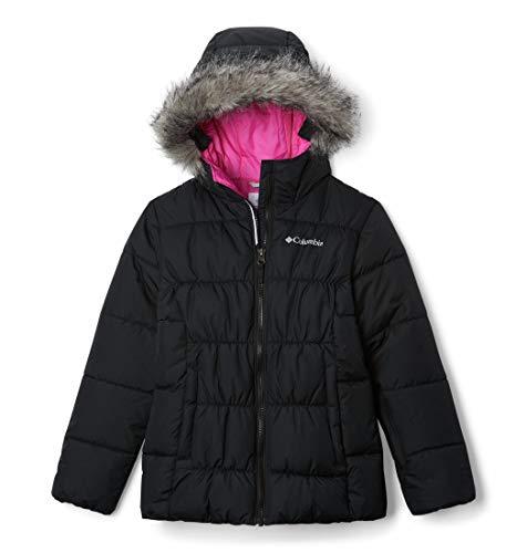 Columbia Gyroslope Chaqueta de esquí, Unisex Niños, Negro (Black/Pink Ice 016), L