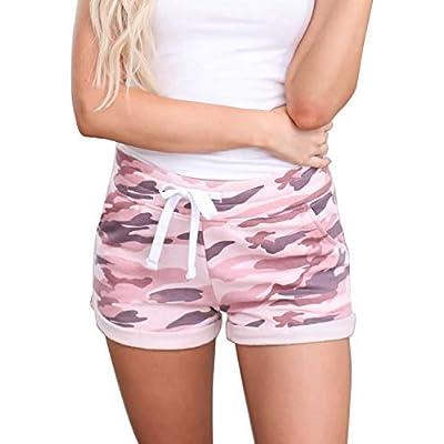 Amazon - Save 70%: Elapsy Womens Summer Drawstring Shorts Loose Tie Dye Print Elastic Wais…