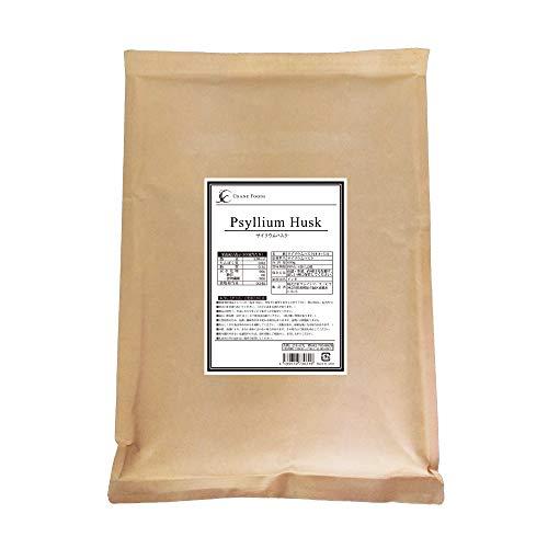 サイリウムハスク (オオバコ) 600g [ 植物性食物繊維 ] インド産 CraneFoods (クレインフーズ)