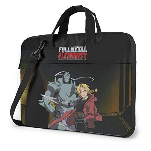 13 inch Laptop Sleeve Bag, Fullmetal Alchemist Tablet Briefcase Ultra Portable Protective Shoulder Shockproof Laptop Sleeve Case Bag Cover Notebook