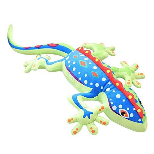 N / A 55cm Super Soft Animal Kawaii Gecko Peluches y Peluches Muñecas Cojín Cojín Kawaii Camaleón Relleno Juguetes Muñeca Niñas Niños 55cm