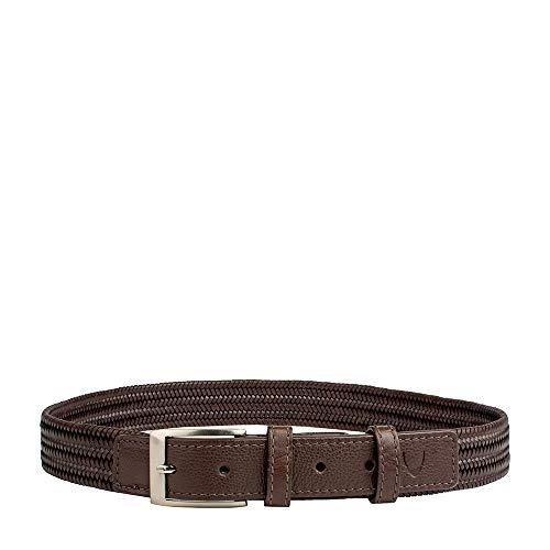 Hidesign Men's Belt (TORINO-RANCHERO_Brown_38)