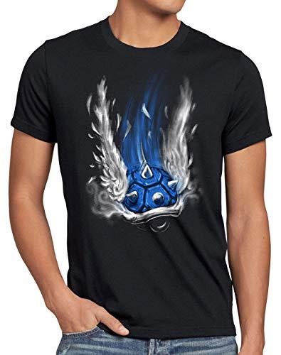 style3 Caparazón Azul Camiseta para...