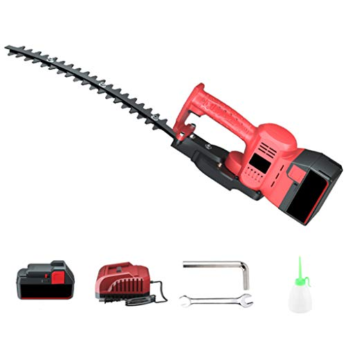 Buy 21-Volt 1600-RPM Hedge Trimmer Cordless Grass Shear/Shrubber Handheld Trimmer, Rechargeable on-B...