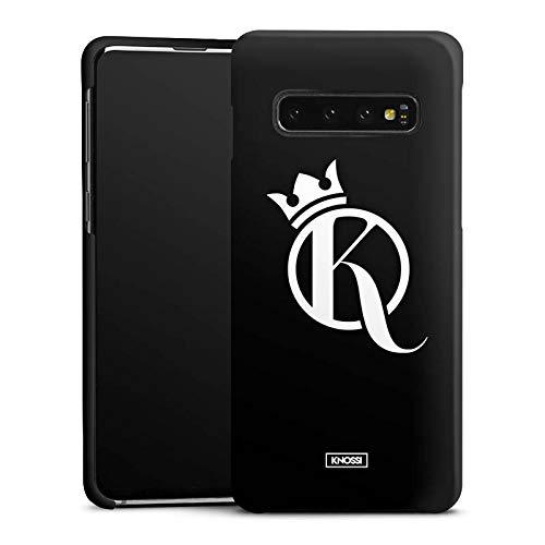 DeinDesign Premium Case kompatibel mit Samsung Galaxy S10 Smartphone Handyhülle Hülle matt Knossi Youtuber Krone