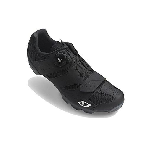 Giro Herren Cylinder MTB Radsportschuhe - Mountainbike, Mehrfarbig (Black 000), 44.5 EU