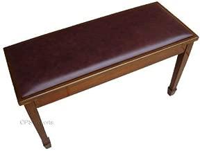 Walnut Grand Piano Bench Stool with Music Storage
