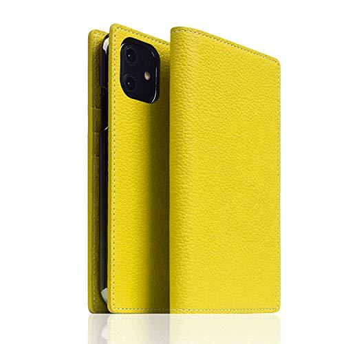 SLG Design iPhone 12 mini レザー ケース 手帳型 [ フルグレイン シボ加工 本革 カード収納 Qi充電 ワイヤレス充電 アイフォン 12 ミニ カバー ] Full Grain Leather Case SD19700i12(レ