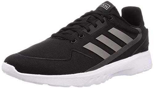 adidas Herren Nebzed Laufschuhe, Schwarz Core Black Dove Grey Grey Six, 42 EU