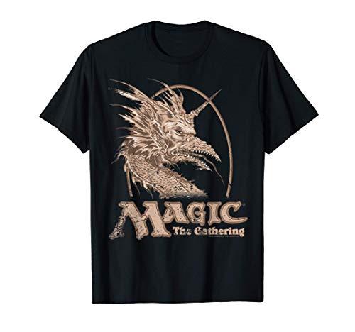 Magic: The Gathering Retro Dragon Logo Camiseta