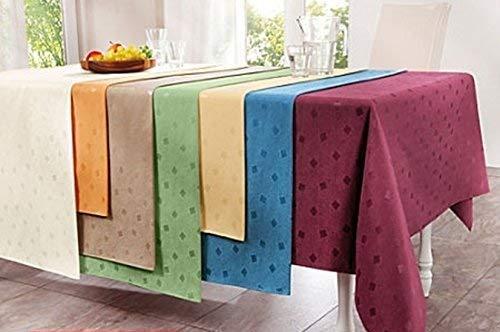 Texturas Selection Mantel Antimanchas LONETA RESINADA Color Liso Impermeable Tamaños Especiales (6 Colores Disponibles)...