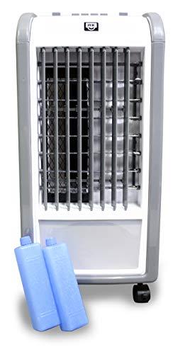 Schuss Home Electronic SHE5AC1901F Aircooler | 3 Stufen | Oszillierend | Klimagerät | Mobile Klimaanlage | Klima Ventilator | Luftreiniger | Luftbefeuchtung | Klimaanlage | Air Cooler