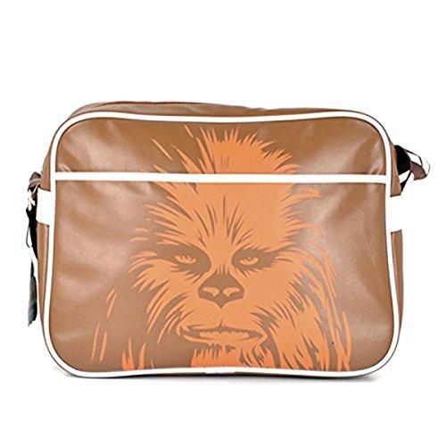Star Wars Schultertasche Chewbacca, Edelstahl, weiß, 9 x 4 x 4 cm