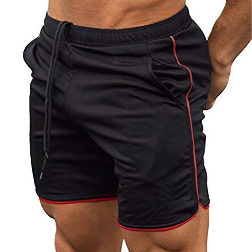 COOFANDY Pantalones Cortos Deportivos para Hombre con Bolsillos, Pantalones Cortos Deportivos de Secado rápido Ligeros para Entrenamiento Fitness Correr Trotar