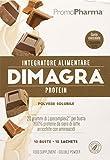 DIMAGRA PROTEIN CIOCCOLATO – PROTEINE WHEY arricchite con aminoacidi – Coadiuvante per...