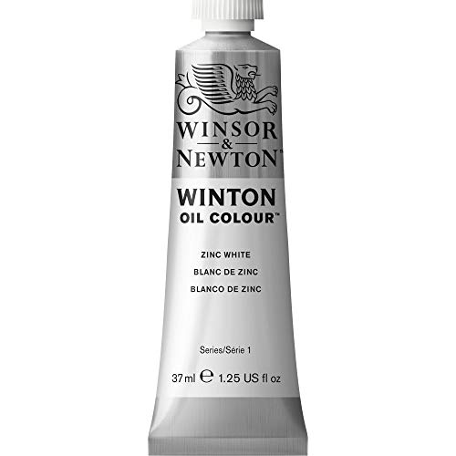Winsor & Newton Winton - Tubo óleo, 37 ml, color blanco de zinc