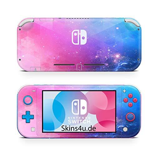 Skins4u Premium Slim Skin Design Aufkleber Schutzfolie Skins für Nintendo Switch Lite Vorder & Rückseite Fantastic