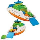 ADRIATIC Barco de Ferry, Color Azul, Naranja, Blanco, Amarillo (836)