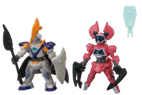 The Little Battlers - LBX Battle Custom Figure Set LBX Elysion & LBX Minerva (Completed Figures Set)