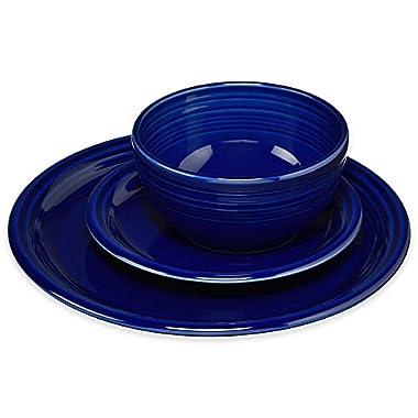 Fiesta 3 Piece Bistro Set, Cobalt Blue