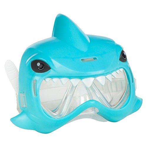 ColorBaby - Mascara para natación Aqua Kidz con diseño de tiburón, color azul (53794)
