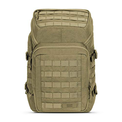 Mission Critical | S.01 Backpack | Baby Gear for Dads | Diaper Bag Backpack (Coyote)