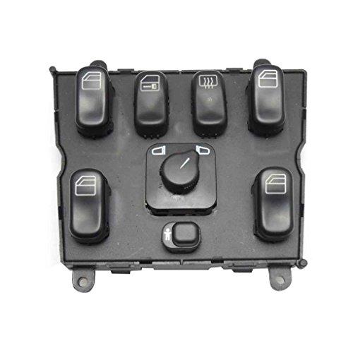 ben-gi 1638206610 Schalter für Fensterheber für Mercedes ML320 W163 Auto Elektronische Fensterheber Master Switch
