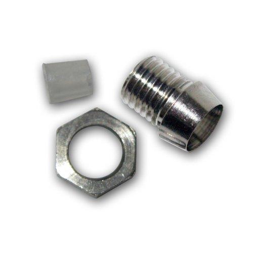 world-trading-net 10 Metallfassungen Schraube für 3mm Standard LEDs