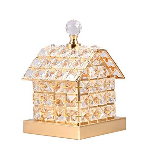 YNHNI Lámpara de Mesa de Cristal de Cristal lámpara de Noche de Noche lámpara de Noche lámpara de Mesa USB Lámpara de Mesa