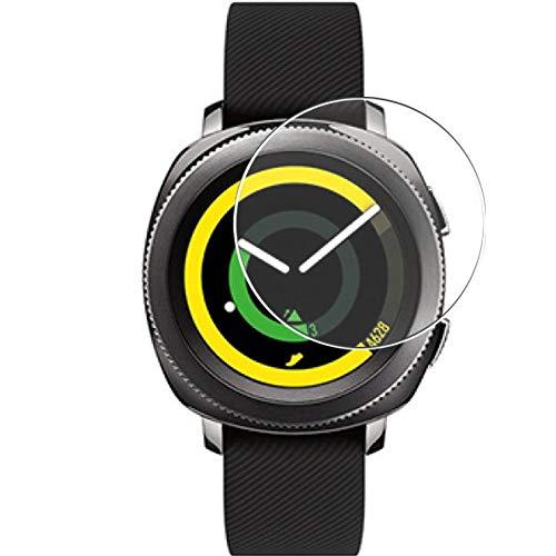 Vaxson 3 Unidades Protector de Pantalla, compatible con Samsung Gear Sport [No Vidrio Templado] TPU Película Protectora Reloj Inteligente Film Guard Nueva Versión
