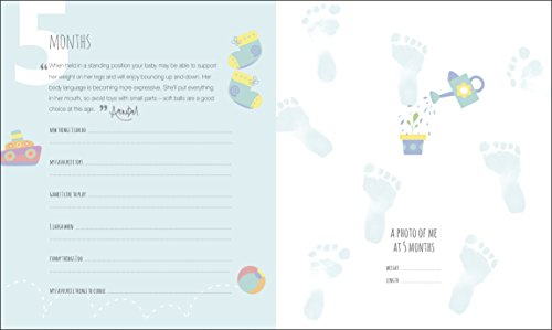 Baby's First Year Journal: A Keepsake of Milestone Moments (Baby Record Books)