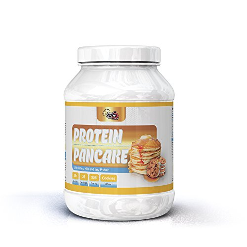 Pure Nutrition High PROTEIN PANCAKE Mix Powder Shake|13 26 65 Servings|Low Carb Sugar 33% Whey Egg Milk Protein Blend|Oats Complex Carbohydrates|Delicious Breakfast Easy Prep|Lean Muscle Building Diet