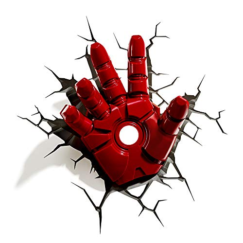 Marvel Iron Man Hand 3D Nightlight