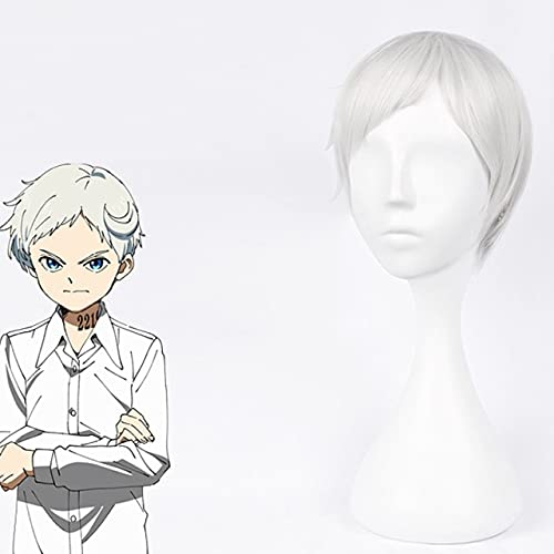Cosroad The Promised Neverland Ray New color Men Easy-to-use Cosplay Norman Wigs Emma
