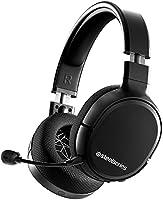SteelSeries Arctis 1 Wireless - Draadloze Gaming Headset - USB-C Draadloos - Afneembare ClearCast-microfoon - PC, PS5,...