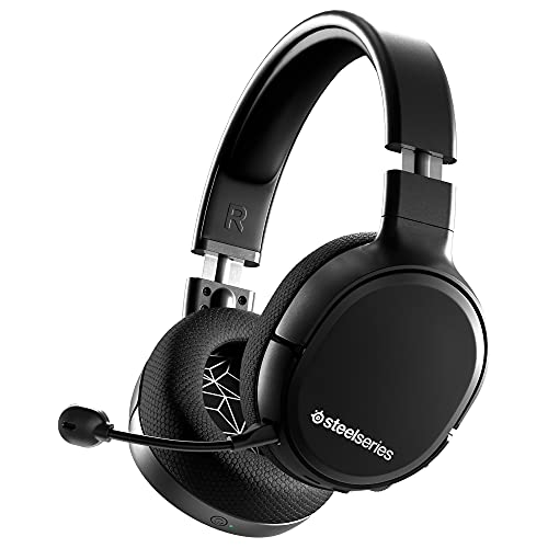 SteelSeries Arctis 1 Wireless – Wireless Gaming Headset – USB-C Wireless – Abnehmbares ClearCast Mikrofon – für PS5, PS4, PC, Nintendo Switch & Lite, Android (PlayStation)