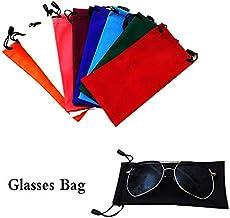 L/ápices Bolsa de Llaves Cdet 5X Funda de Gafas Ultra Ligero Sunglasses Case para Gafas Tarjetas,Azul