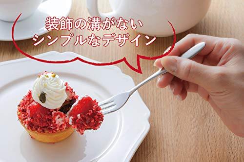 下村企販フォークピック5本+1本【日本製】ステンレスつや消しケーキ28103TSUBAME燕三条