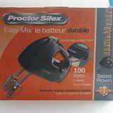 PROCTOR SILEX, MIX 100 WATT HAND MIXER - BLACK (Catalog Category: )