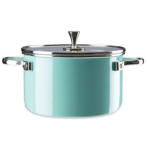 KATE SPADE Turquoise 4-quart Casserole, 3.55 LB, Blue