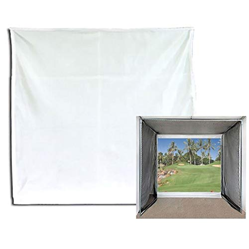 Cimarron Sports Heavy-Duty Extra Durable Multi-Use Inside/Outside Home Projection Screen Golf Training Aid, 10x10 Ft
