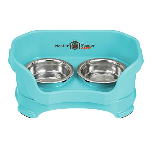 Neater Feeder Deluxe (Midnight Black, Small Dog)