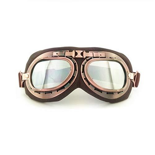 SummShine casque de moto Lunettes vintage Lunettes de soleil Motocross Moto Sports de plein air Racer Croiseurs Eyewear