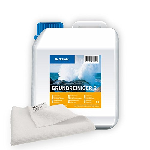 Trevendo® Set - Dr. Schutz Grundreiniger R, 5 Liter inkl. Microfasertuch