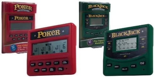 Trademark Global Electronic Handheld 5 in Special sale item Las Vegas and Poker 1 New color