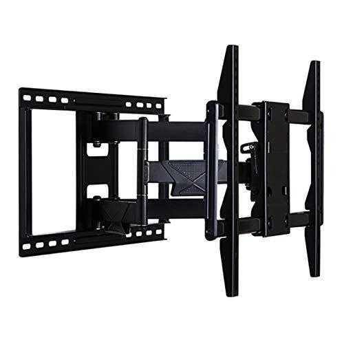 Kaidanwang Soporte de Pared para TV TV Wall Mount Ultra Slim Perfil Tilt para TV de 50-86 Pulgadas Flatcurved, Pantallas compatibles con VESA, Capacidad de Peso de 60 kg (Color : Black)