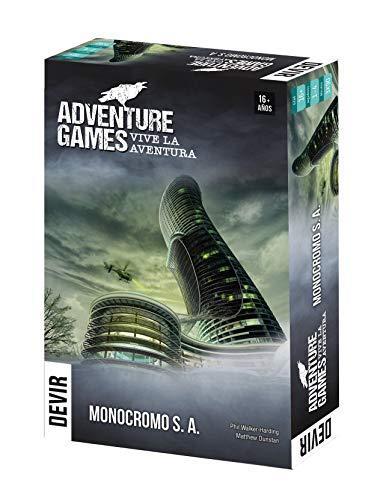 Devir- Adventure Games Vive la Aventura, Multicolor (BGAGMOSP)