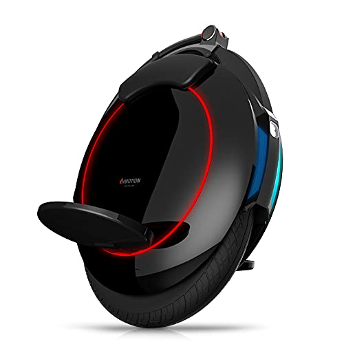INMOTION V5F Electric Unicycle for Adults – 14-Inch One Wheel Balance Bike –...